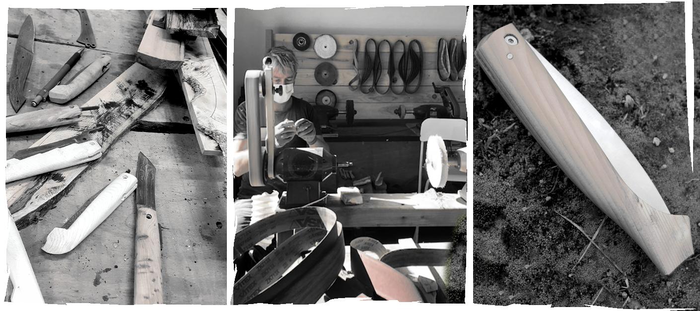Fabrication Couteaux de Poche